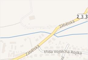Zábělská v obci Plzeň - mapa ulice