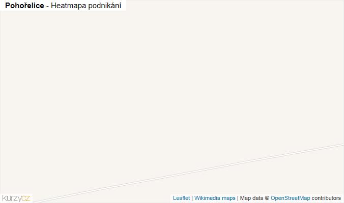 Mapa Pohořelice - Firmy v obci.