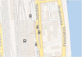 Nádražní v obci Praha - mapa ulice