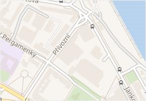 Přívozní v obci Praha - mapa ulice