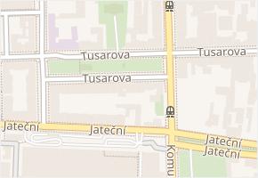 Tusarova v obci Praha - mapa ulice