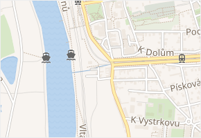 U spořitelny v obci Praha - mapa ulice