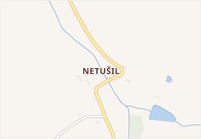 Netušil v obci Rašovice - mapa části obce