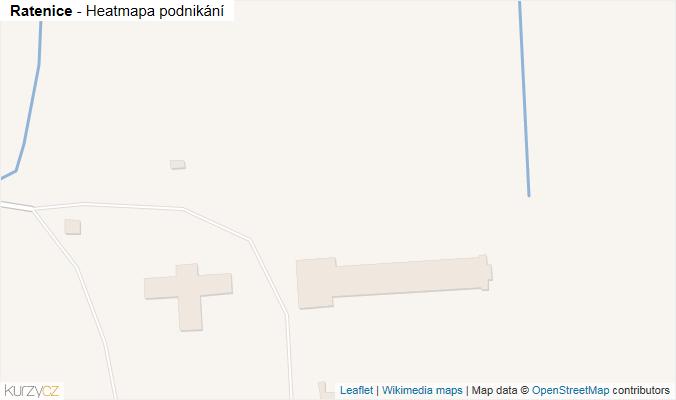 Mapa Ratenice - Firmy v obci.