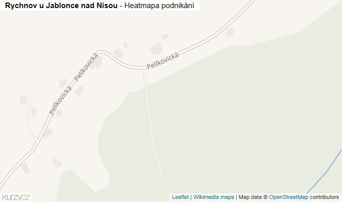 Mapa Rychnov u Jablonce nad Nisou - Firmy v obci.