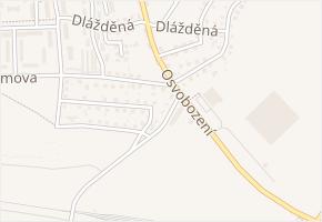 Vodárenská v obci Stochov - mapa ulice