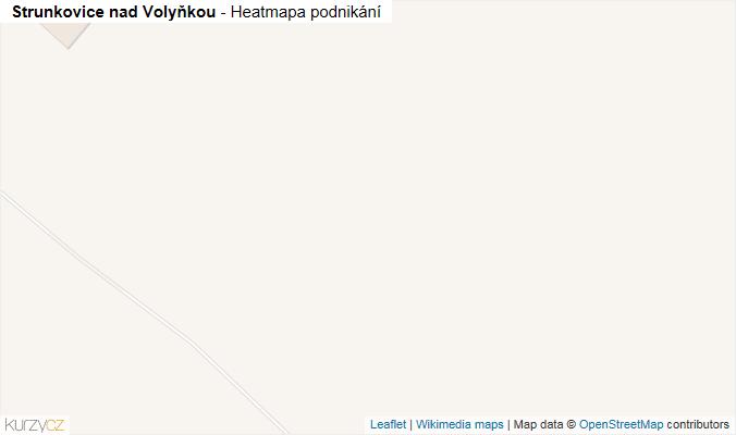 Mapa Strunkovice nad Volyňkou - Firmy v obci.