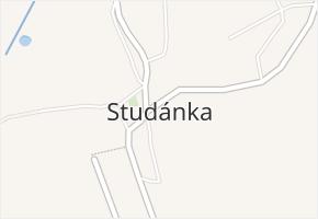 Studánka v obci Studánka - mapa části obce