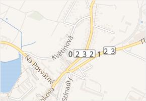 Jiráskova v obci Telč - mapa ulice