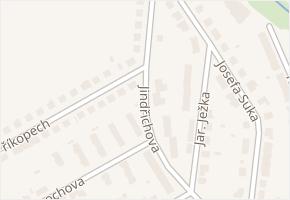 Jindřichova v obci Třebíč - mapa ulice
