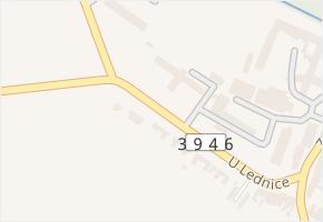 U lednice v obci Troubsko - mapa ulice
