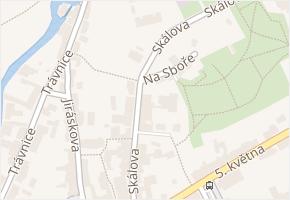 Skálova v obci Turnov - mapa ulice