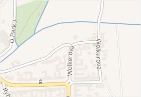 Wolkerova v obci Újezd u Brna - mapa ulice