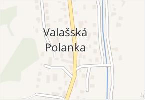 Valašská Polanka v obci Valašská Polanka - mapa části obce