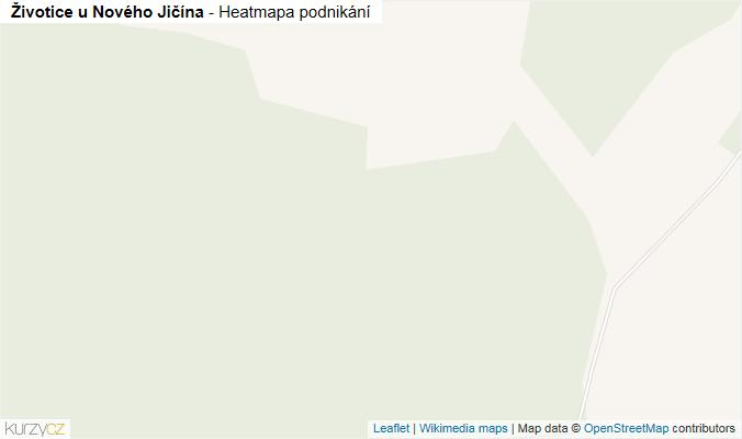 Mapa Životice u Nového Jičína - Firmy v obci.