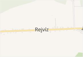 Rejvíz v obci Zlaté Hory - mapa části obce