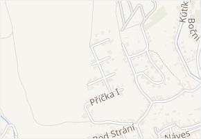 Hřebenová v obci Zlín - mapa ulice