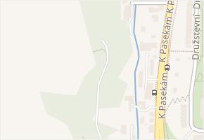 K Pasekám v obci Zlín - mapa ulice