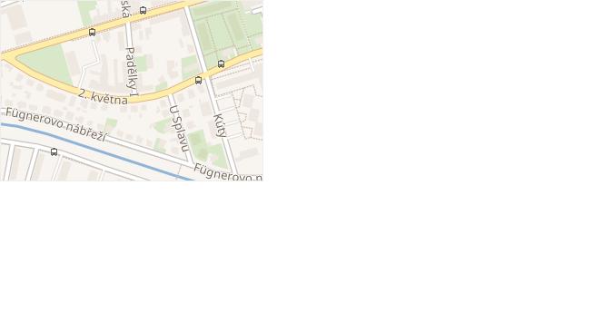 Padělky I v obci Zlín - mapa ulice