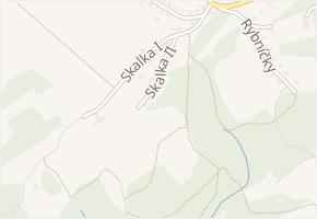 Skalka II v obci Zlín - mapa ulice