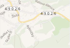 Švambovce v obci Zlín - mapa ulice