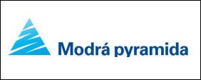Logo Modrá pyramida