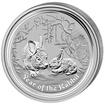 Lunární série II. - stříbrná mince 0,5 AUD Year of the Rabbit (Rok králíka) 1/2 Oz 2011