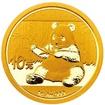 Investiční zlato - zlatá mince 10 Yuan China Panda 1g 2017