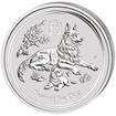Lunární série II. - stříbrná mince 0,5 AUD Year of the Dog (Rok psa) 1/2 Oz 2018