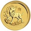 Lunární série II. - zlatá mince 15 AUD Year of the Dog (Rok psa) 1/10 Oz 2018