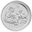 Lunární série II. - stříbrná mince 0,5 AUD Year of the Monkey (Rok opice) 1/2 Oz 2016