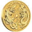 Zlatá mince 1 Oz Dragon & Tiger (Drak a Tygr) 2019 - (2.)