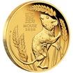Lunární série III. - zlatá mince Year of the Mouse (Rok krysy) 1/10 Oz 2020 PROOF