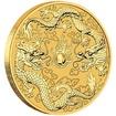 Zlatá mince 1 Oz Double Dragon (Drak a Drak) 2020 - (3.)