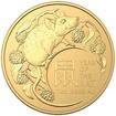 Zlatá mince Lunární série Year of the Rat (Rok krysy) 1 Oz 2020 (Lunar RAM)