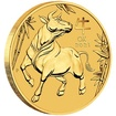 Lunární série III. - zlatá mince Year of the Ox (Rok buvola) 1/2 Oz 2021