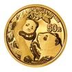 Zlatá mince 50 Yuan China Panda 3g 2021