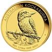 Zlatá mince Australian Kookaburra (Ledňáček) 1/10 Oz 2021