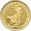 Zlatá mince 10 Pounds Britannia 1/10 Oz