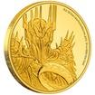Exkluzivní zlatá mince Sauron™ 1/4 Oz 2021 (Lord of the Rings™) PROOF - (1.)