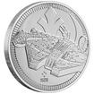 Stříbrná mince Millenium Falcon™ 1 Oz 2021 (Star Wars™)