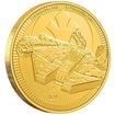 Zlatá mince Millenium Falcon™ 1 Oz 2021 (Star Wars™)