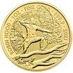 Zlatá mince Mýty a legendy - Robin Hood 1 Oz 2021 - (1.)