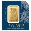 Investiční zlato - zlatý slitek 1g PAMP Fortuna z Multigram
