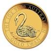 Zlatá mince 1 Oz Australian Swan (Labuť černá) 2021