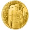 Exkluzivní zlatá mince The Mandalorian™ 1/4 Oz 2021 (Mandalorian™ Classic) PROOF - (1.)