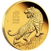 Lunární série III. - zlatá mince Year of the Tiger (Rok tygra) 1 Oz 2022 PROOF