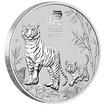 Lunární série III. - stříbrná mince Year of the Tiger (Rok tygra) 1/2 Oz 2022