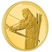 Exkluzivní zlatá mince Legolas™ 1/4 Oz 2021 (Lord of the Rings™) PROOF - (5.)