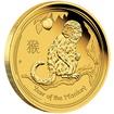 Zlatá mince 1/20 oz (trojské unce) ROK OPICE Austrálie 2016